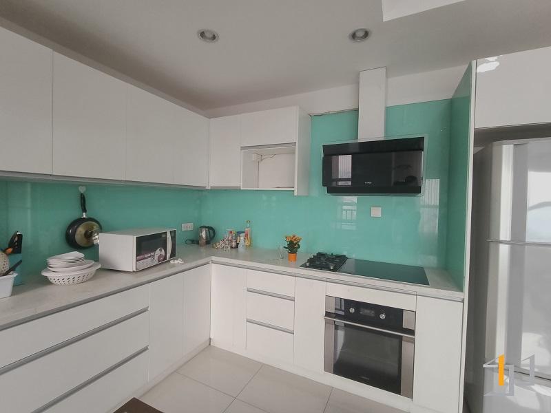 Hiện trạng nội thất bếp căn hộ