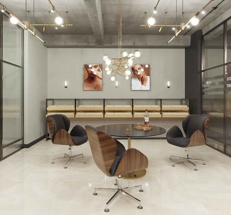 Khu vực trưng bày và tư vấn cho khách hàng