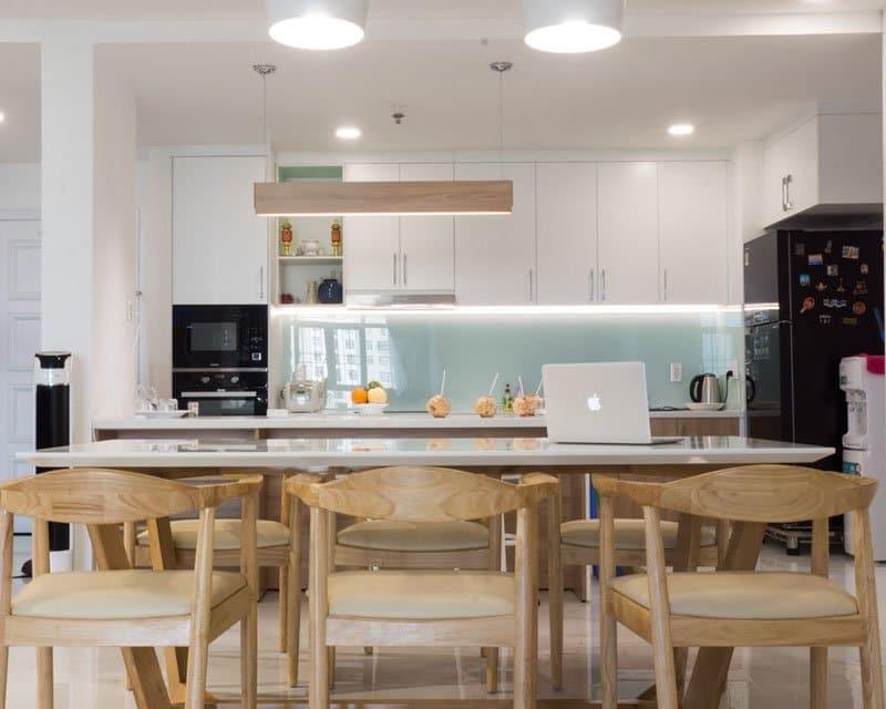 tủ bếp acrylic giá rẻ tb05