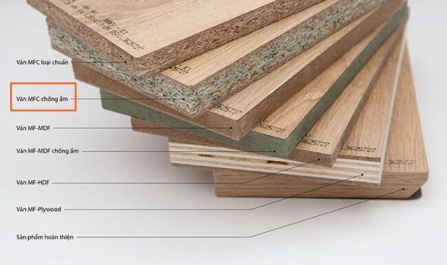 Vật liệu gỗ công nghiệp An Cường