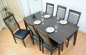 bàn ăn chữ nhật 6 ghế