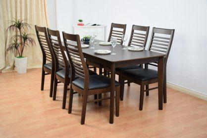bàn ăn chủ nhật 6 ghế