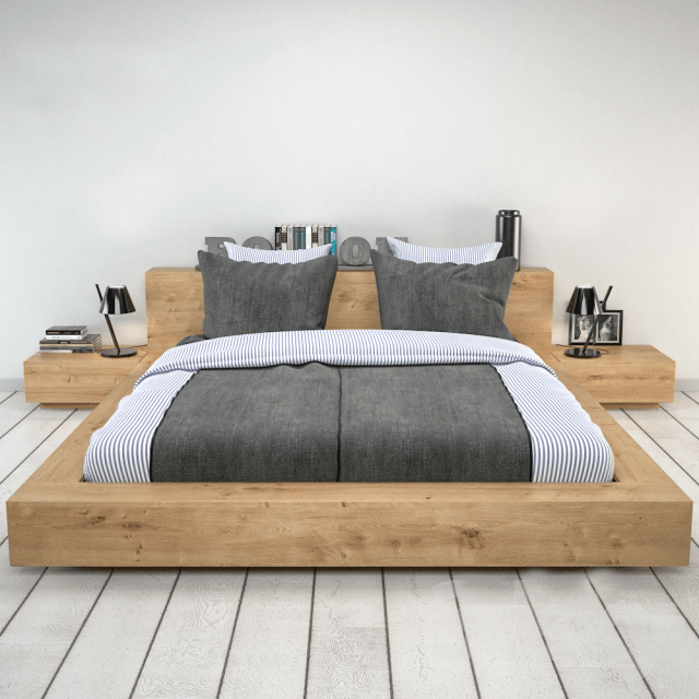 Giường ngủ phong cách Nhật - GN18