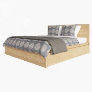 Giường ngủ MDF sồi