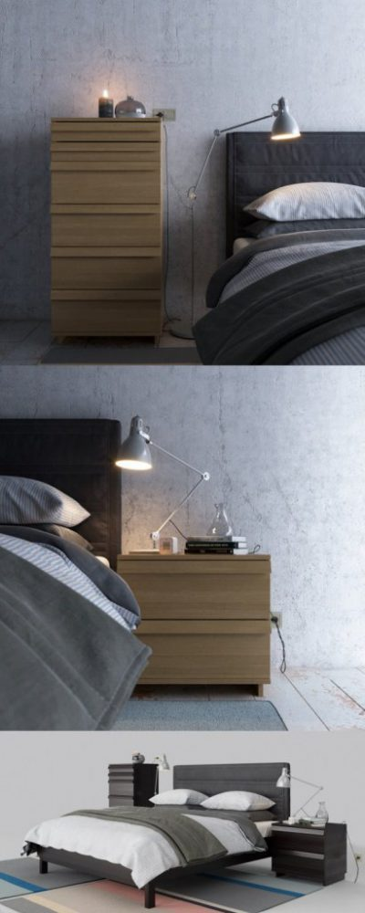 Giường ngủ GN07