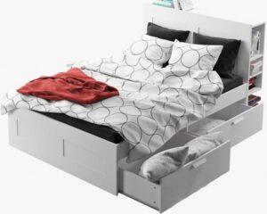 giường ngủ 2 ngăn keo