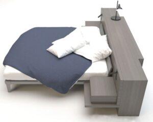 Giường ngủ laminate - GN27