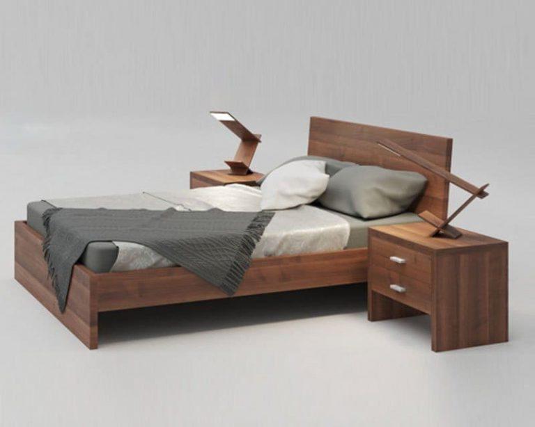 Giường ngủ MDF phủ Veneer GN03