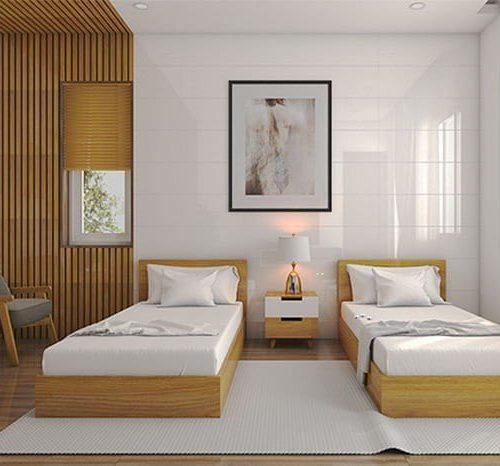 giường đơn khách sạn