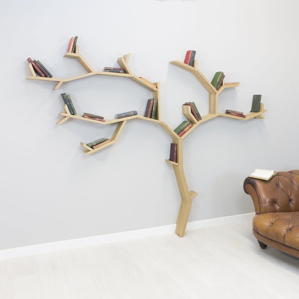 kệ sách sáng tạo hình cây 2