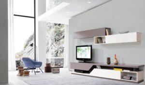 tủ tivi sáng tạo phong cách hiện đại
