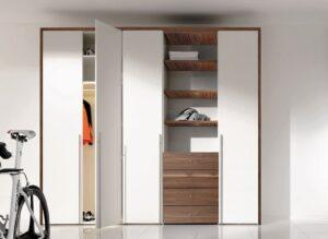 tủ âm tường gỗ công nghiệp