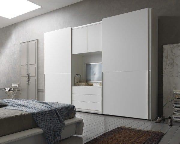 Tủ quần áo kết hợp kệ tivi-TA10