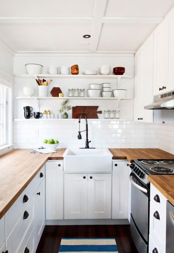 Mẫu thiết kế tủ nhà bếp thông minh - hình 03