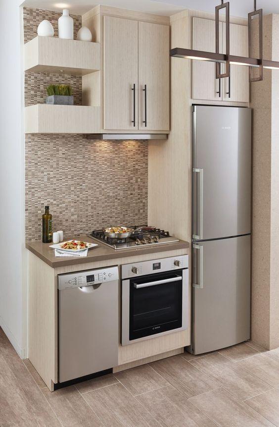 Mẫu thiết kế tủ nhà bếp thông minh - hình 01