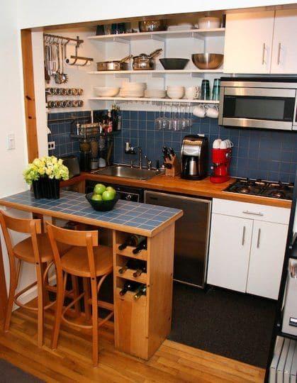 Mẫu thiết kế tủ nhà bếp thông minh - hình 02
