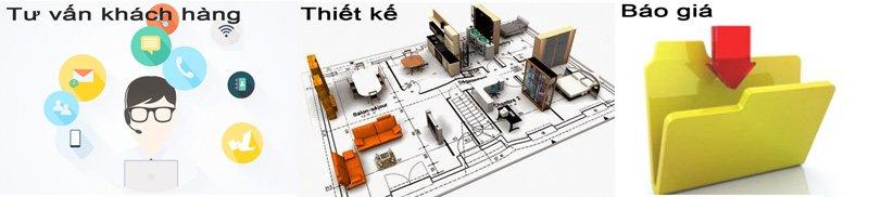 thi công trọn gói nội thất căn hộ S-housing
