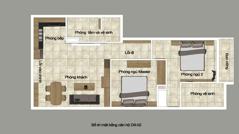 Nội thất căn hộ Park Residence