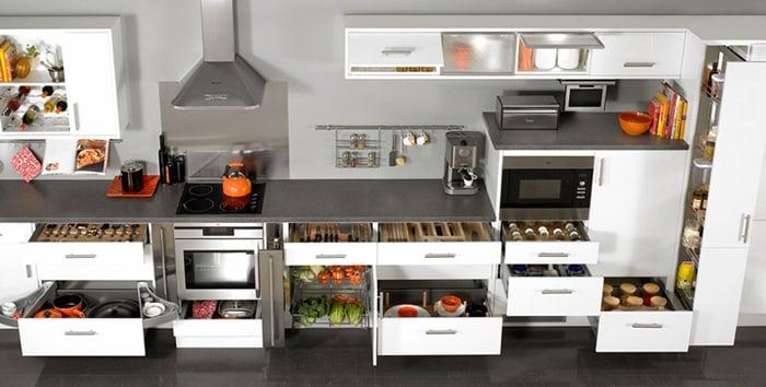 5 loại phụ kiện tủ bếp đẹp - hình 01