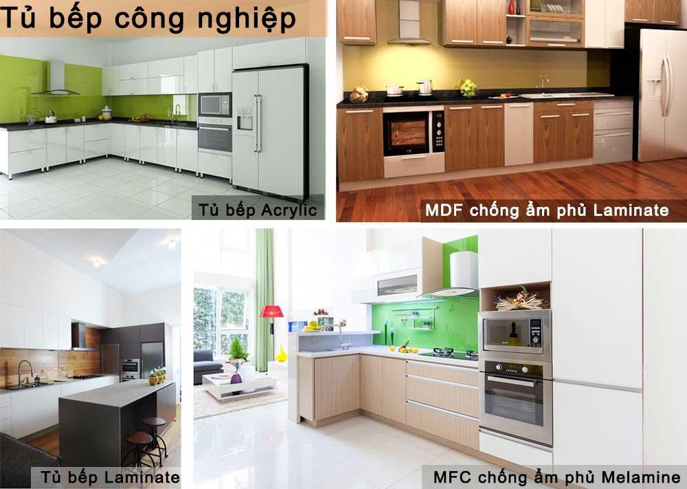 thiết kế thi công bếp