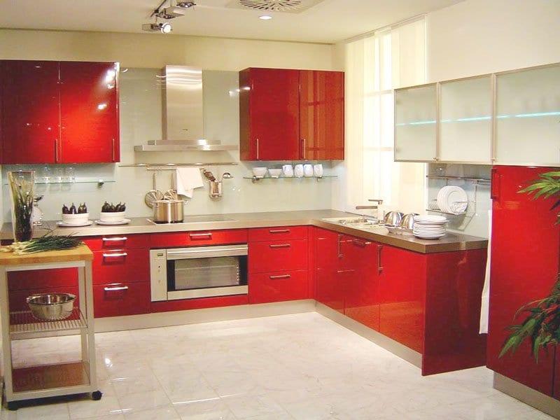 tông màu giành cho nhà bếp