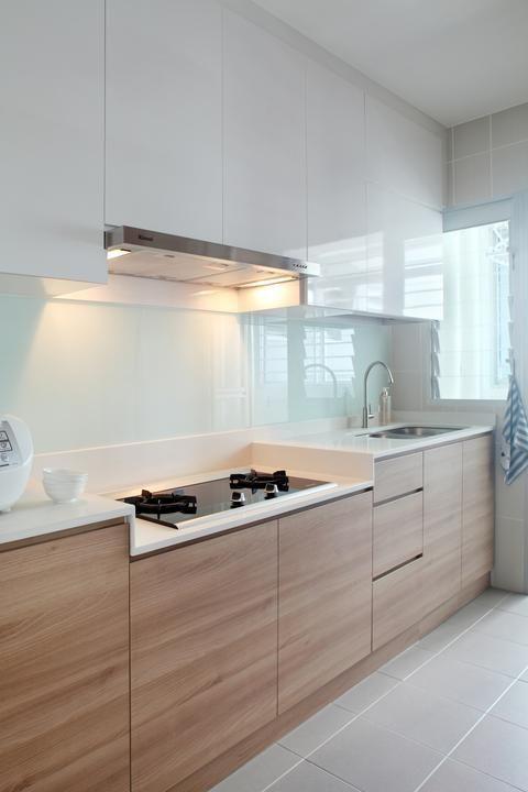 tủ gỗ bếp đẹp