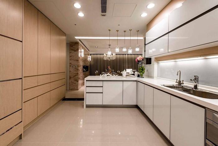 tủ bếp chung cư nhỏ đẹp - hình 10