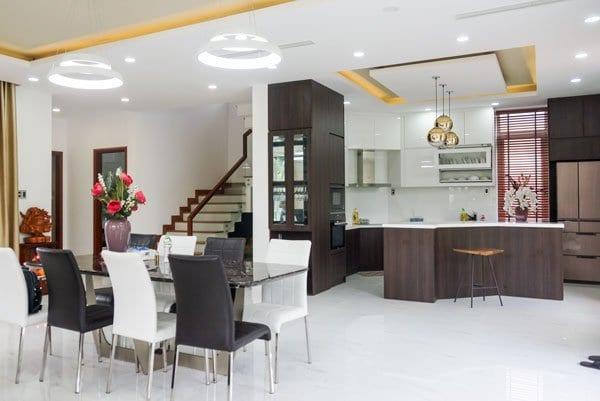 nội thất biệt thự jamana nội thất phòng bếp