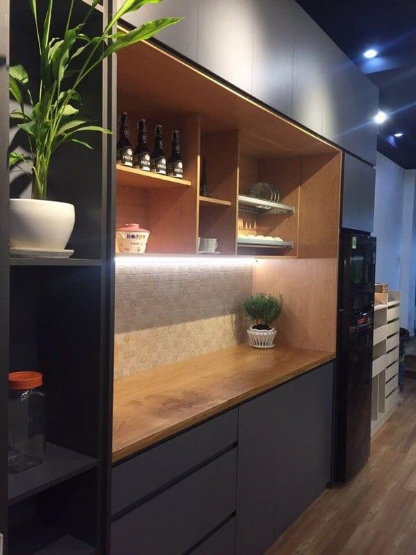 Quầy bar thiết kế xa bếp