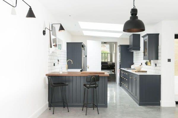 tủ bếp đẹp cho nhà nhỏ