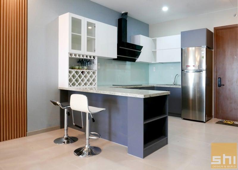 thiết kế thi công nội thất căn hộ chung cư đẹp