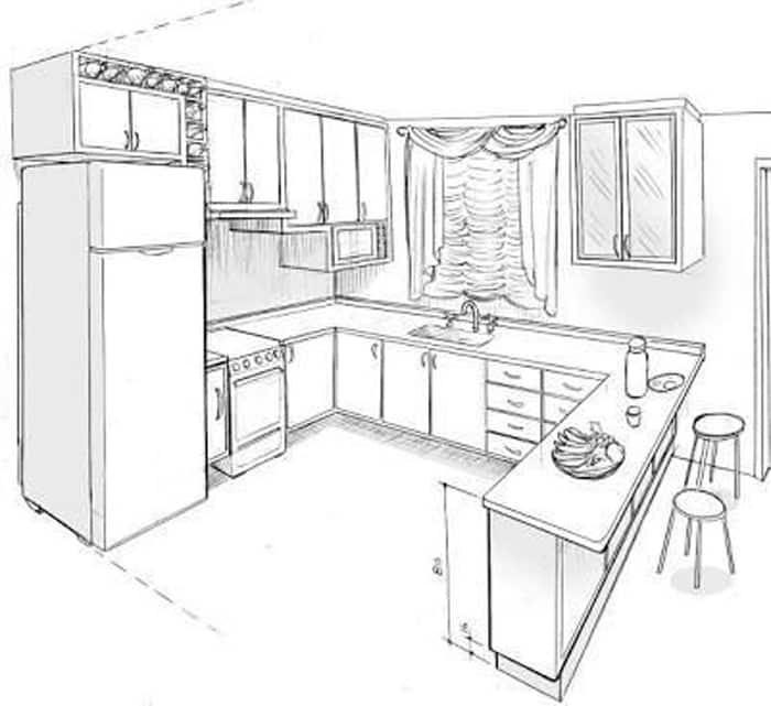 Nguyên tắcthiết kế phòng bếp đẹp - hình 02