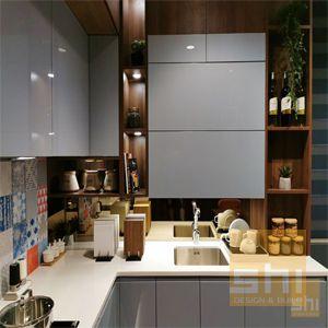tủ bếp acrylic cao cấp