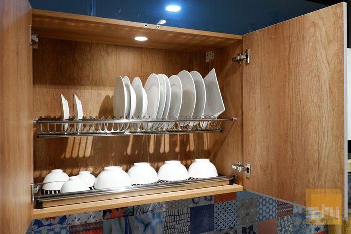 Kệ chén bát imundex tủ bếp trên - Mẫu 02