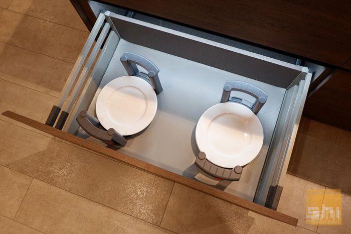 Kệ úp chén bát Imundex tủ bếp dưới - Mẫu 03