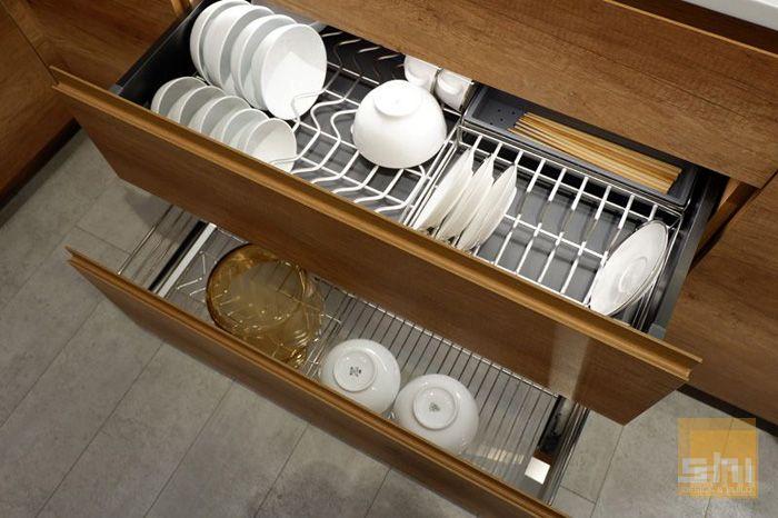 Kệ úp chén bát Imundex tủ bếp dưới - Mẫu 01