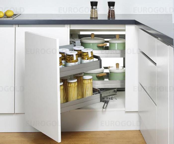 Mẫu Tủ Bếp Đẹp Cho Nhà Nhỏ - Hình 02