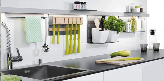 Mẫu Tủ Bếp Đẹp Cho Nhà Nhỏ - Hình 03