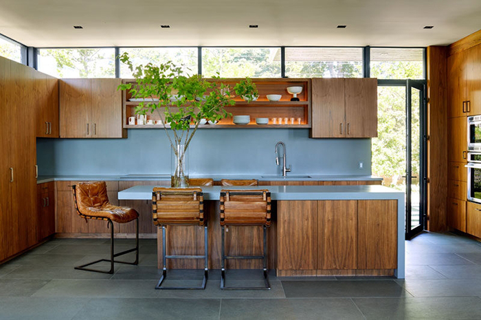 Những Mẫu Tủ Bếp Gỗ Đẹp Nhất 2020 - Hình 03