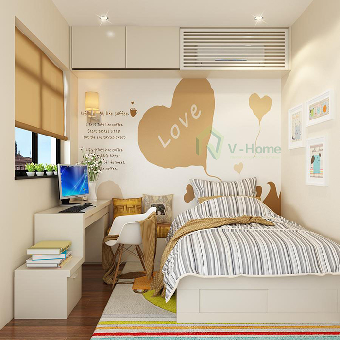 Mẫu Thiết Kế Phòng Ngủ Đẹp - Hình 09