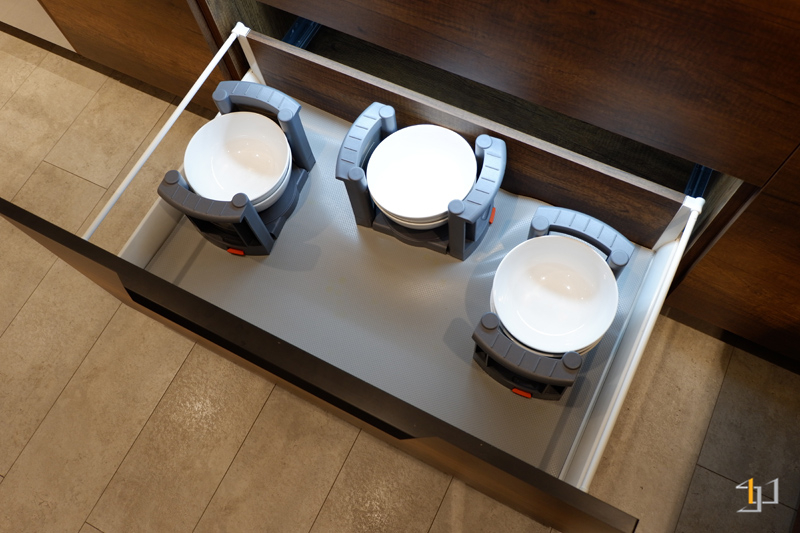 Kệ chén đĩa tủ bếp melamine