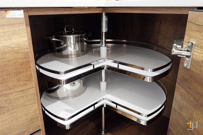 Kệ liên hoàn – măm xoay tủ bếp melamine