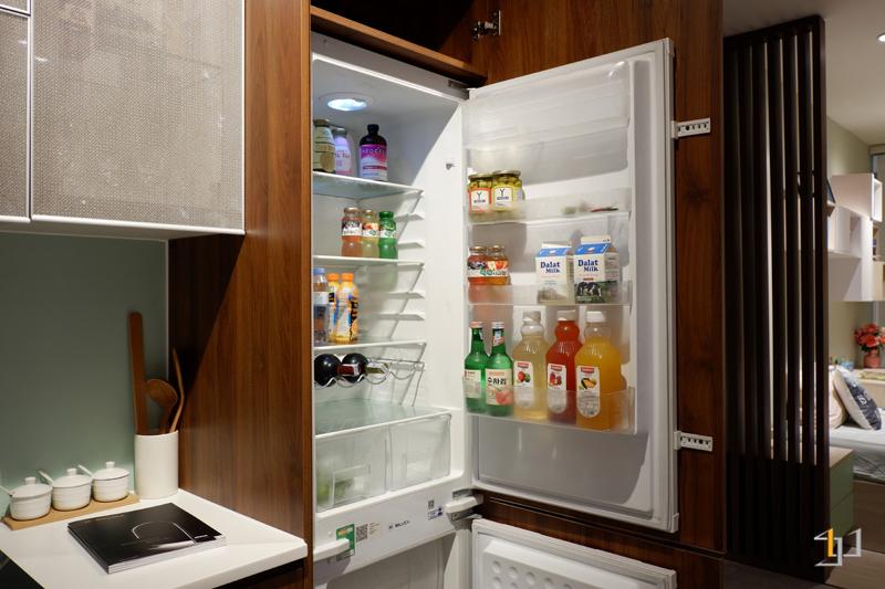 Thùng chứa tủ lạnh tủ bếp