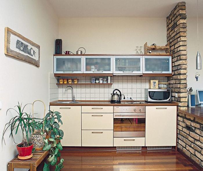 Tủ Bếp Gỗ Công Nghiệp Rẻ, Bền - Hình 01