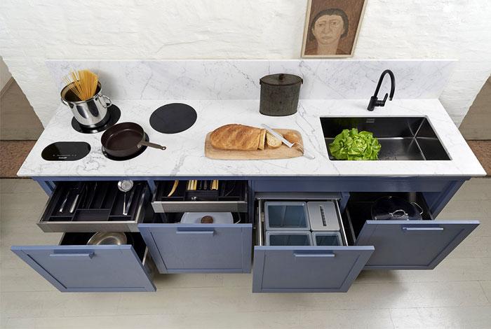 Tủ Bếp Gỗ Công Nghiệp Rẻ, Bền - Hình 05