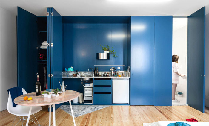 Mẫu Tủ Bếp Đẹp Hiện Đại - Hình 02