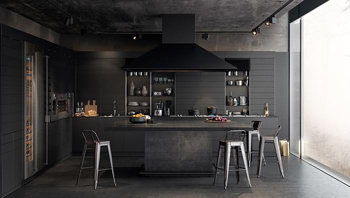 Mẫu Tủ Bếp Đẹp Hiện Đại - Hình 03