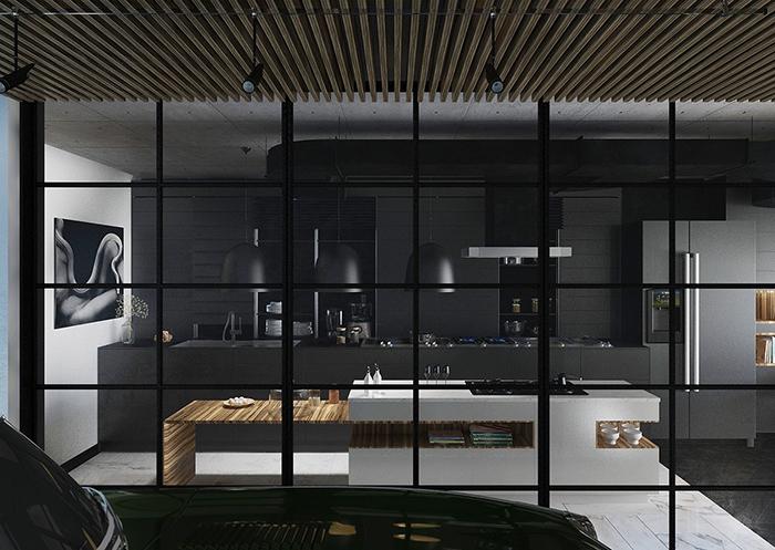 Mẫu Tủ Bếp Đẹp Hiện Đại - Hình 04