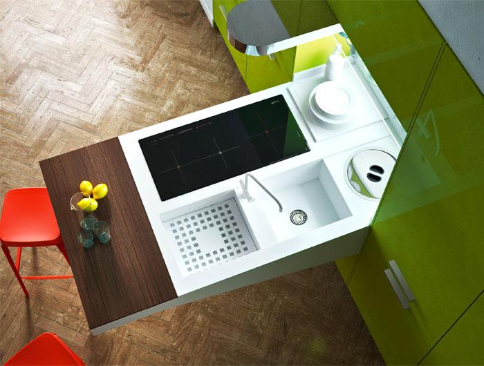 Mẫu Tủ Bếp Đẹp Hiện Đại - Hình 06