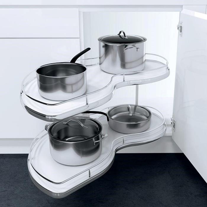 Tủ Bếp Đẹp Bằng Gỗ Công Nghiệp - Hình 03